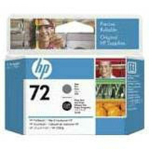 Консуматив за принтер HEWLETT PACKARD HP 72 Gray and Photo Black Printhead - C9380A