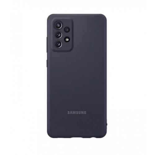 Аксесоар за мобилен телефон SAMSUNG A72 Silicone Cover Black