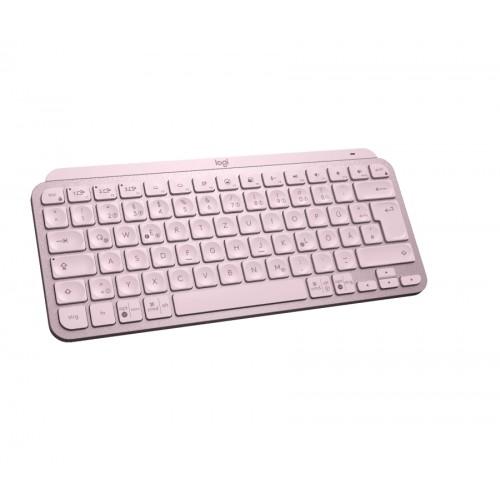 Клавиатура LOGITECH MX Keys Mini Minimalist Wireless Illuminated Keyboard - ROSE - US Intl