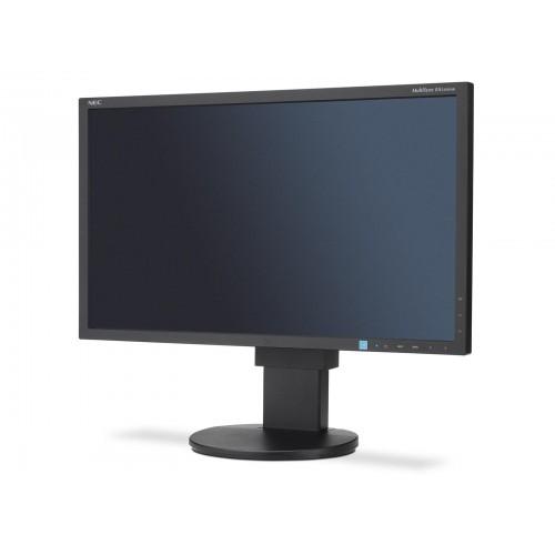 """Монитор NEC MultiSync EA234WMi, IPS, 23"""", Wide, Full HD, Черен"""