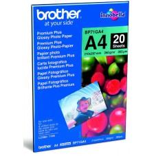 Хартия  BROTHER BP71GA4 Premium Plus Glossy Photo Paper 20 Sheets - BP71GA4