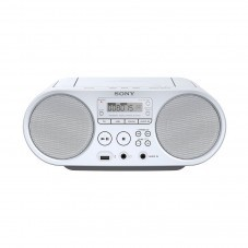 Плеър SONY ZS-PS50 CD player, бял - ZSPS50W.CET
