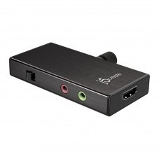 Кепчер адаптер j5 create JVA02, HDMI  към USB-C, Тype-C с PD(Power delivery)