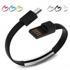 Кабел за данни No brand Micro USB, тип гривна