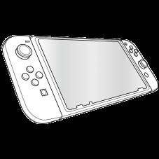 Аксесоари за геймъри SPEED-LINK GLANCE PRO Tempered Glass Protection Kit - for Nintendo Switch
