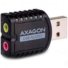 Звукова карта AXAGON ADA-10 USB2.0 - Stereo Audio Mini Adapter