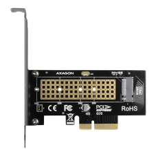 Контролер AXAGON PCEM2-N PCI-E 3.0 4x - M.2 SSD NVMe
