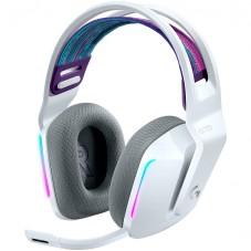 Геймърски слушалки LOGITECH G733 LIGHTSPEED Wireless RGB Gaming Headset - WHITE - 2.4GHZ - EMEA