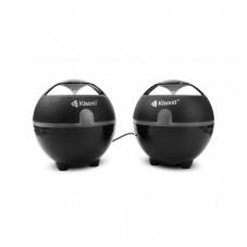 Тонколони Kisonli S-999, 3W*2, USB, Черни