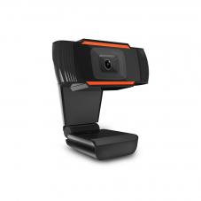 Уеб камера No brand W10, Микрофон, 720p, Черен
