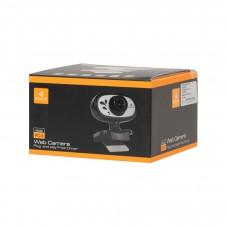 Уеб камера Kisonli HD-1083, Микрофон, 1080p, Черен