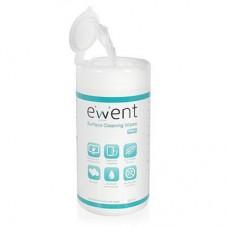 Почистващи кърпички Ewent EW5612, за дисплеи, 100бр