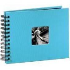 """Албум със спирала """"Fine Art"""", 24 x 17 cm за 50 снимки, Тюркоаз - HAMA-113673"""