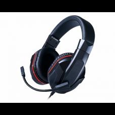 Геймърски слушалки BigBen Nintendo Switch Headset, Микрофон, Черен/Червен