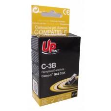 Мастилница UPRINT BCI3/BCI5/BCI6 CANON, Черен - LF-INK-CAN-BCI3BLACK-UP