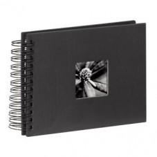 """Албум със спирала """"Fine Art"""", 24 x 17 cm за 50 снимки, черен  - HAMA-90150"""