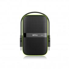 "Твърд диск външен SILICON POWER Armor A60 1TB 2.5"" HDD USB 3.0 удароустойчив черен външен диск - SLP-HDD-A60-1TB"