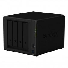 Мрежов сторидж Synology DS920+, за 4 диска, до 64TB, 2.0GHz, 4GB, Гигабит, USB3.0