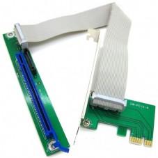 Платка PCI-E 1X to 16X No brand