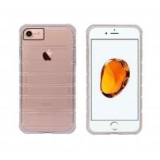 Протектор No brand за iPhone 7/7S, Силикон, Ultra thin, Черен