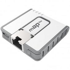 Безжичен Access Point MikroTik mAP Lite RBmAPL-2nD, 64MB RAM, 1xLAN 10/100, 802.3af/at