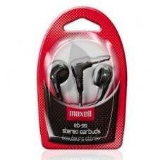 Слушалки MAXELL EB-95 Ear BUDS Stereo тапи черни - ML-AH-EB-95