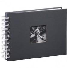 """Албум със спирала """"Fine Art"""", 24 x 17 cm за 50 снимки, Сив - HAMA-02111"""