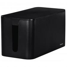 Кутия за кабели Hama Mini, Черен