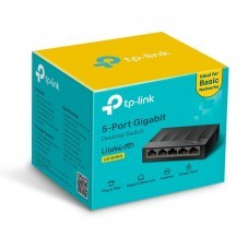 Switch TP-Link LS1005G, 5 порта 10/100 /1000Mbps