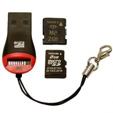 Четец за флаш карти Micro SD Четец